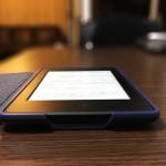 Kindle Paperwhiteの純正レザーカバーケース付けたら一気に高級感が増した